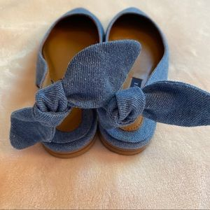 Margaux Shoes - NEW Margaux Slingback flat in denim blue